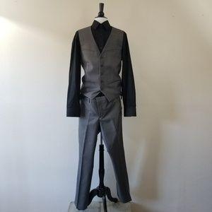 Express Black & Grey Suit w/o a Coat